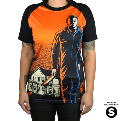 Halloween® Night He Came Home Mega Print Tee