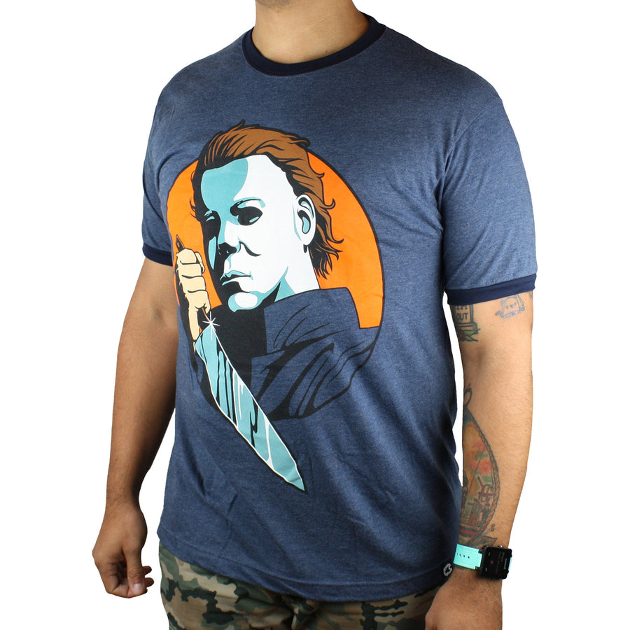 Michael Myers® Icon Ringer Unisex Shirt