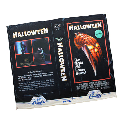 Halloween® VHS Throw Blanket