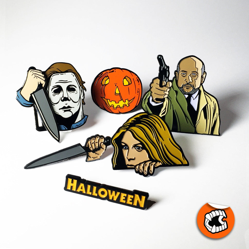 Halloween® 6-Pin Enamel Pin Collector's Set - Creepy Co.