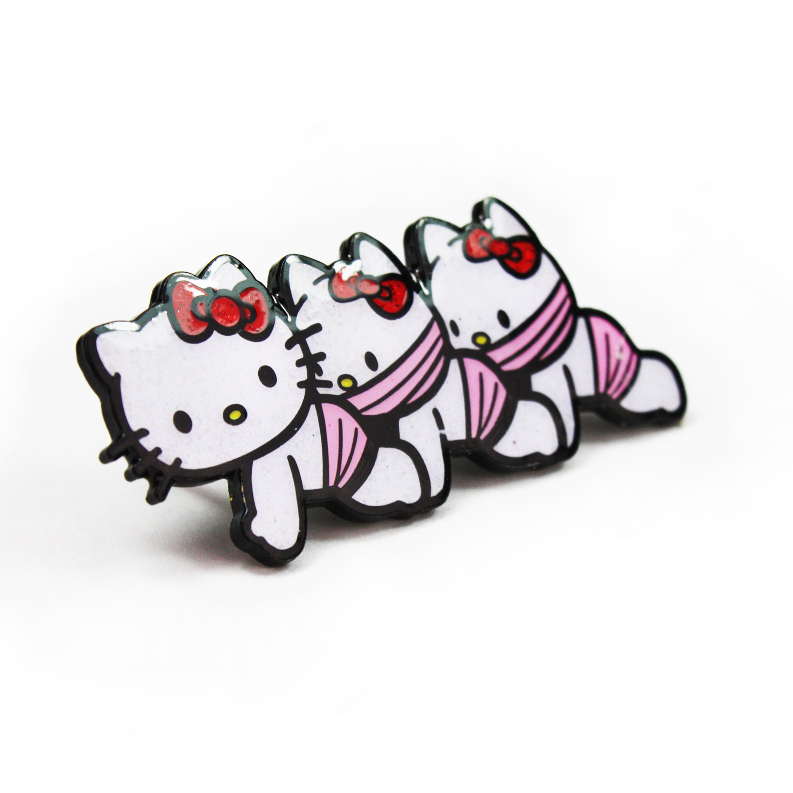 Hello Kittypede Enamel Pin (2016)
