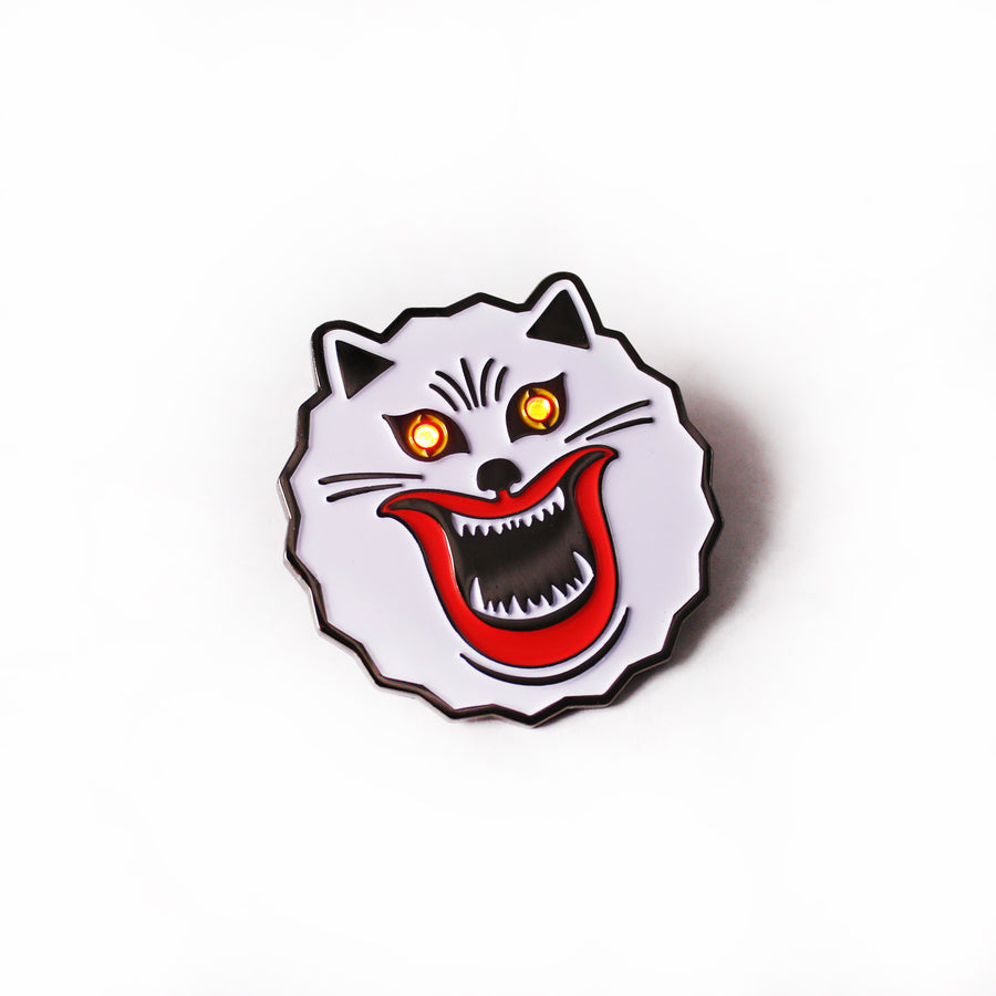 Demon Cat 2.0 Enamel Pin