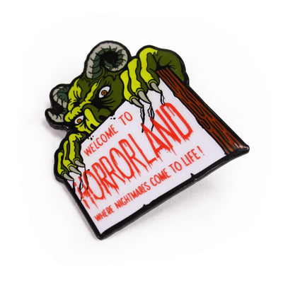 Goosebumps® Horrorland Enamel Pin