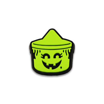 Boo Buckets PVC Lapel Pin Set