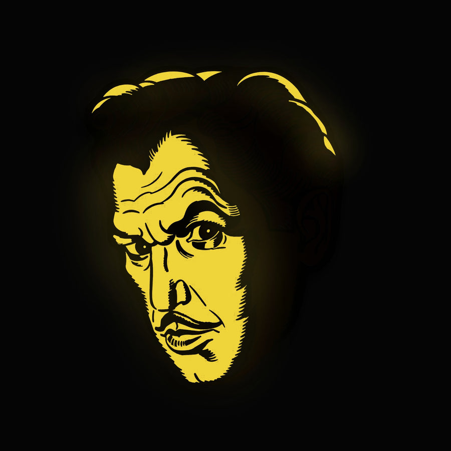 "Vincent Price ""Ablaze"" Enamel Pin"