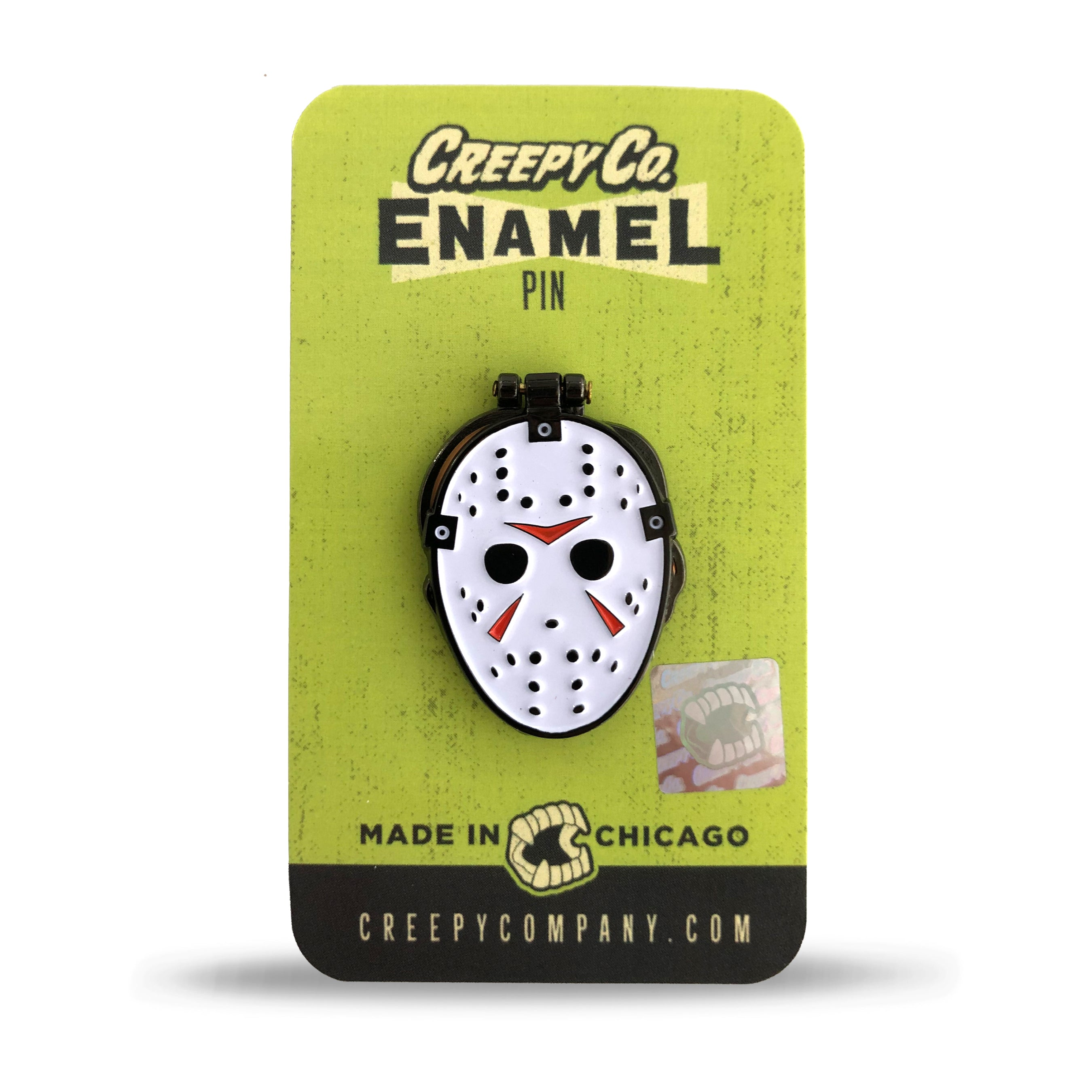 Hockey Mask Hacker Hinged Enamel Pin (2015)