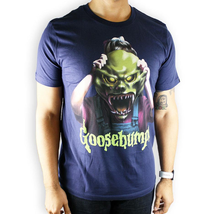 Goosebumps™ Haunted Mask Unisex Shirt - Creepy Co.