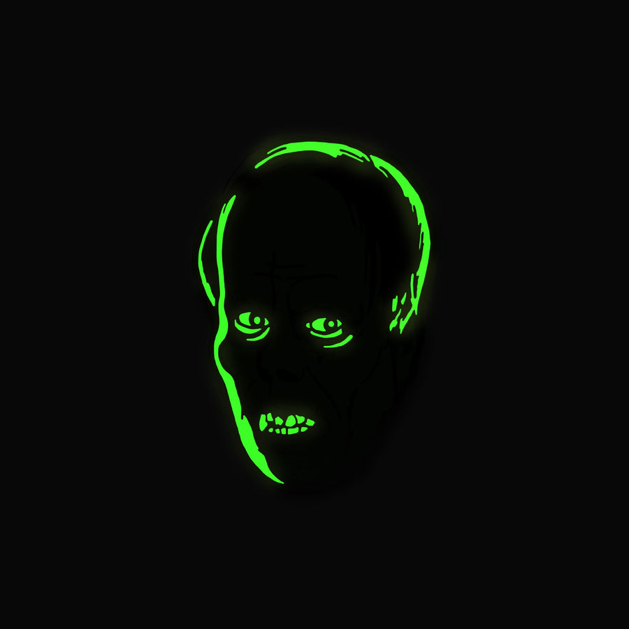 Lon Chaney Phantom Enamel Pin - Glo-tesque Variant