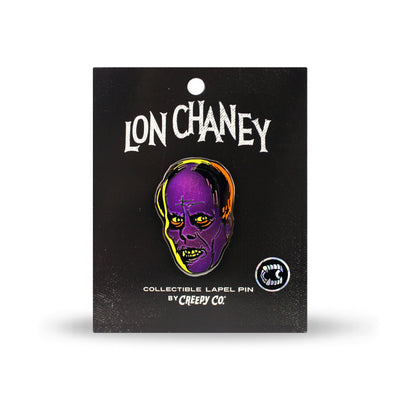 Lon Chaney Phantom Enamel Pin - OJ and Purple Stuff Variant