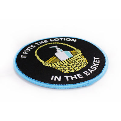 Lotion Basket Woven Patch