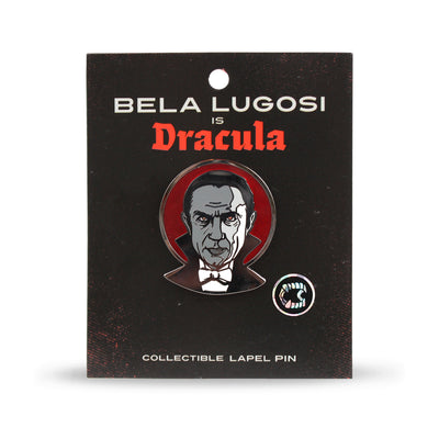 Bela Lugosi Blood Moon Enamel Pin