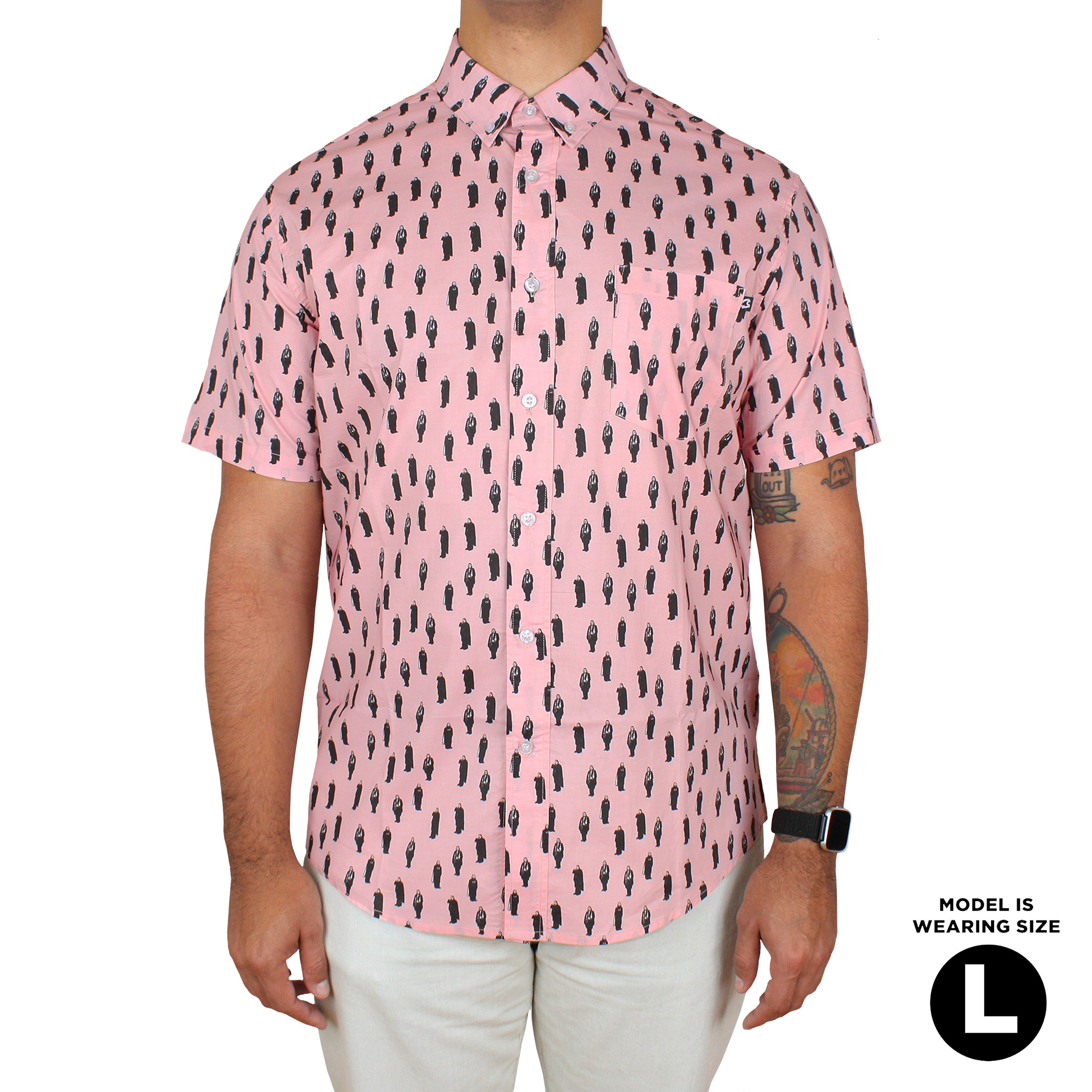 Reigning Lugosi Button-Up Shirt