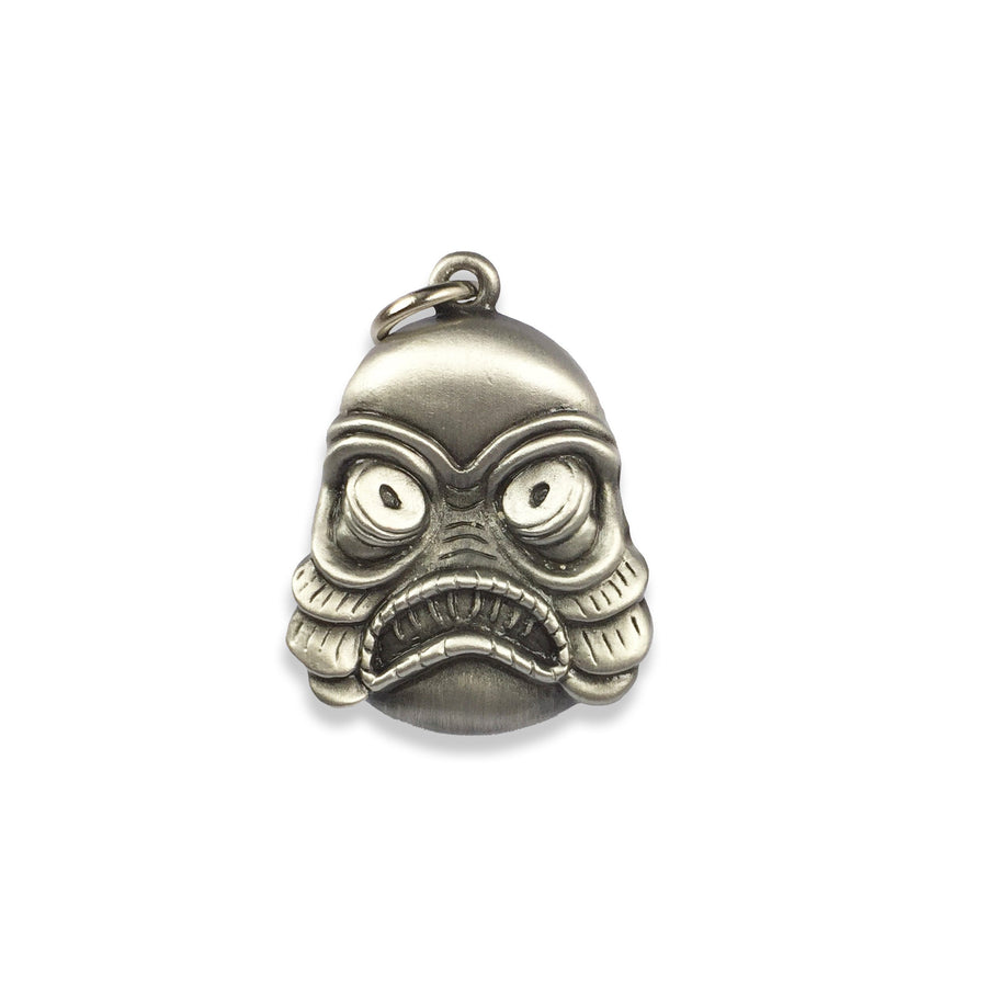 Marsh Monster Pewter Charm with Pin Adapter - Creepy Co.