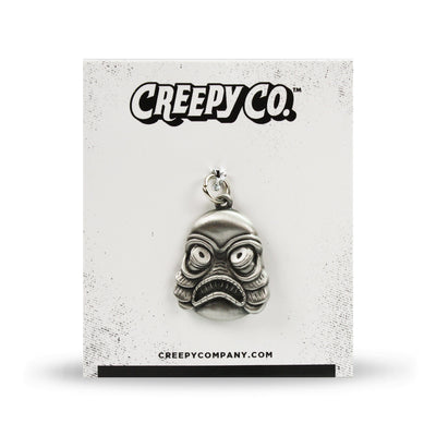 Marsh Monster Pewter Charm with Pin Adapter