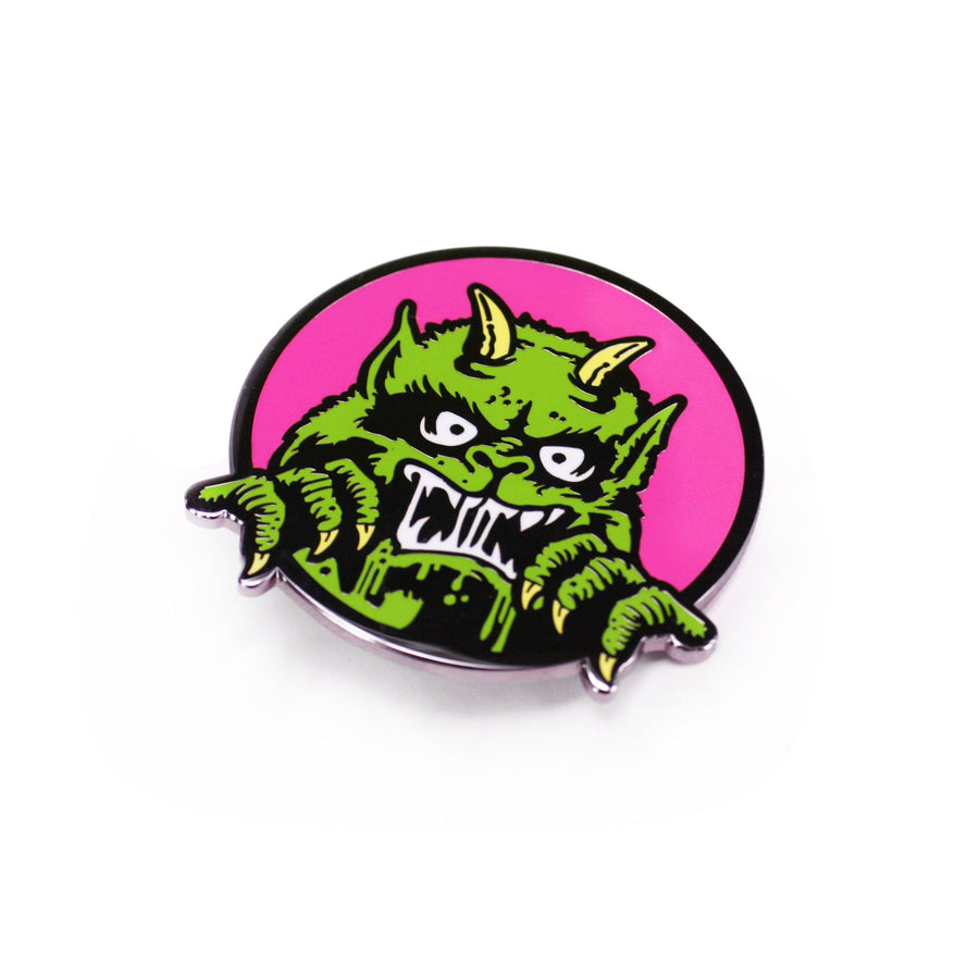 Moon Monster Enamel Pin