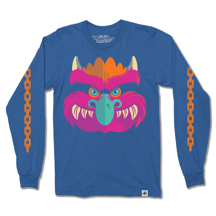 My Pet Monster™ Chain Arms Long Sleeve Shirt - Creepy Co.