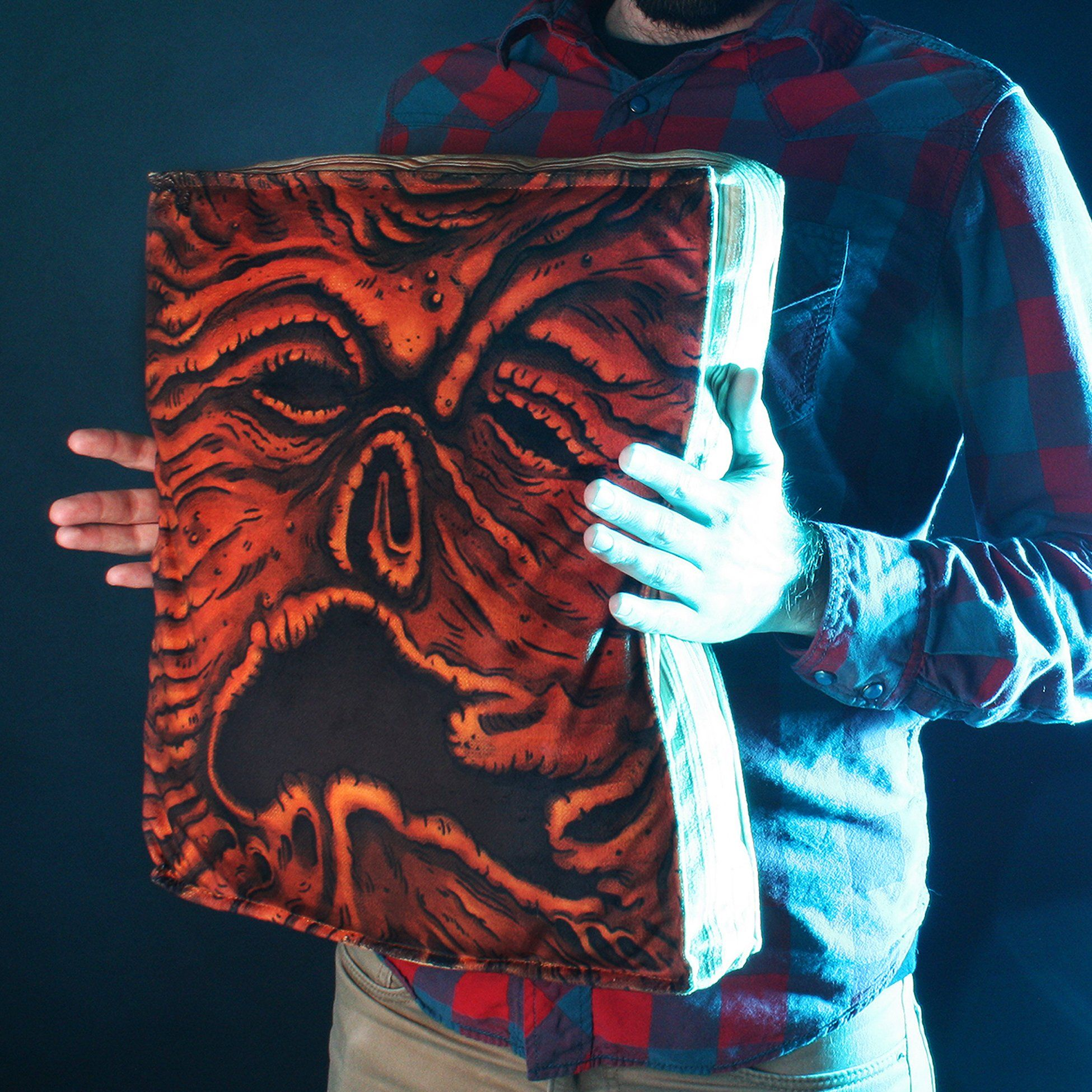 Necronomicon Plush Cushion