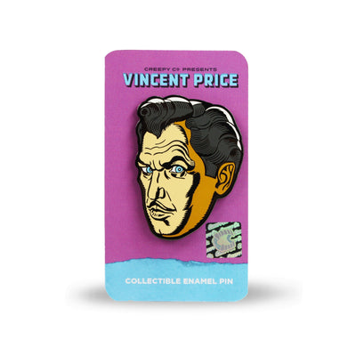 Vincent Price Classic Enamel Pin