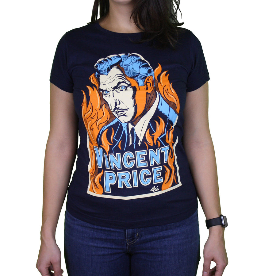 Vincent Price Macabre Ladies Tee