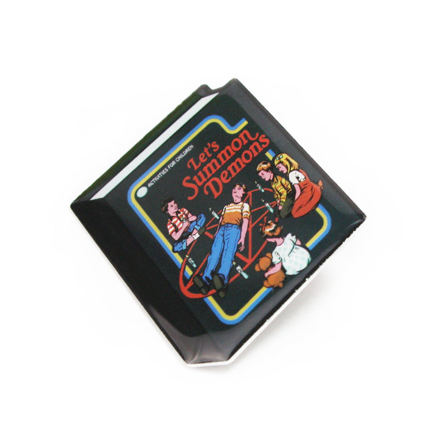 Let's Summon Demons Lapel Pin