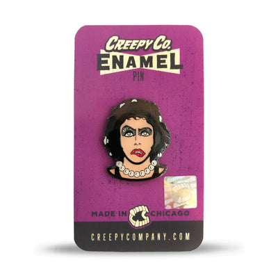 Titillated Transvestite Enamel Pin (2015)