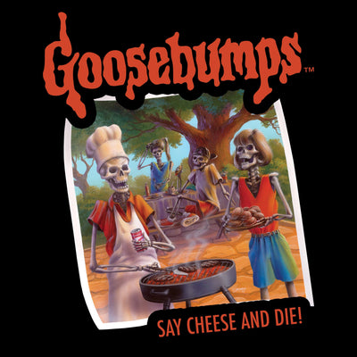 Goosebumps™ Say Cheese and Die! Unisex Shirt - Creepy Co.
