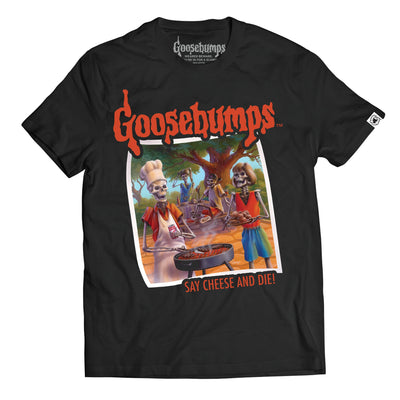 Goosebumps® Say Cheese and Die! Unisex Tee
