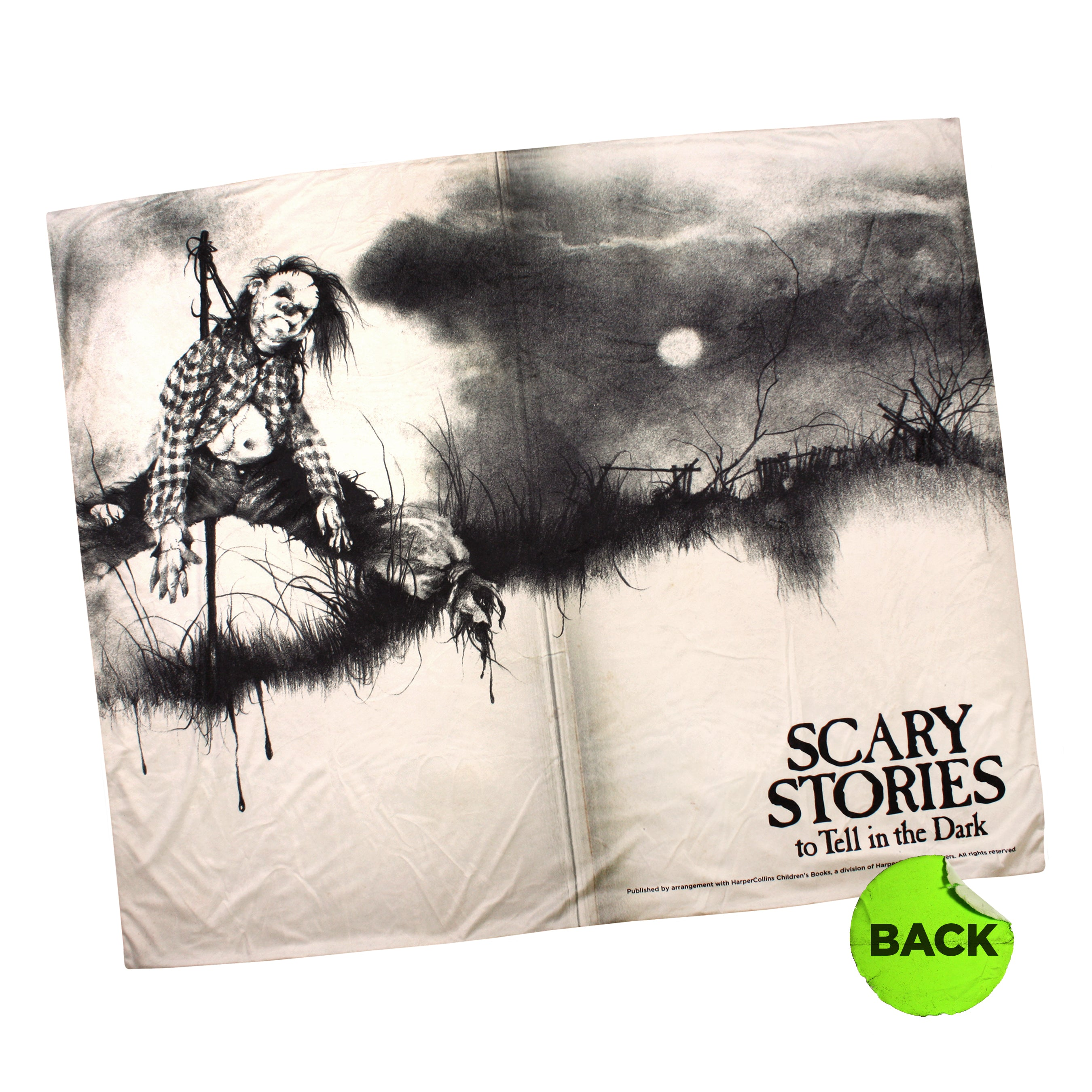 "Scary Stories Blanket & Tee ""Scare"" Package"