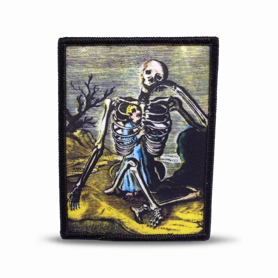 Boy Inside the Skeleton Patch