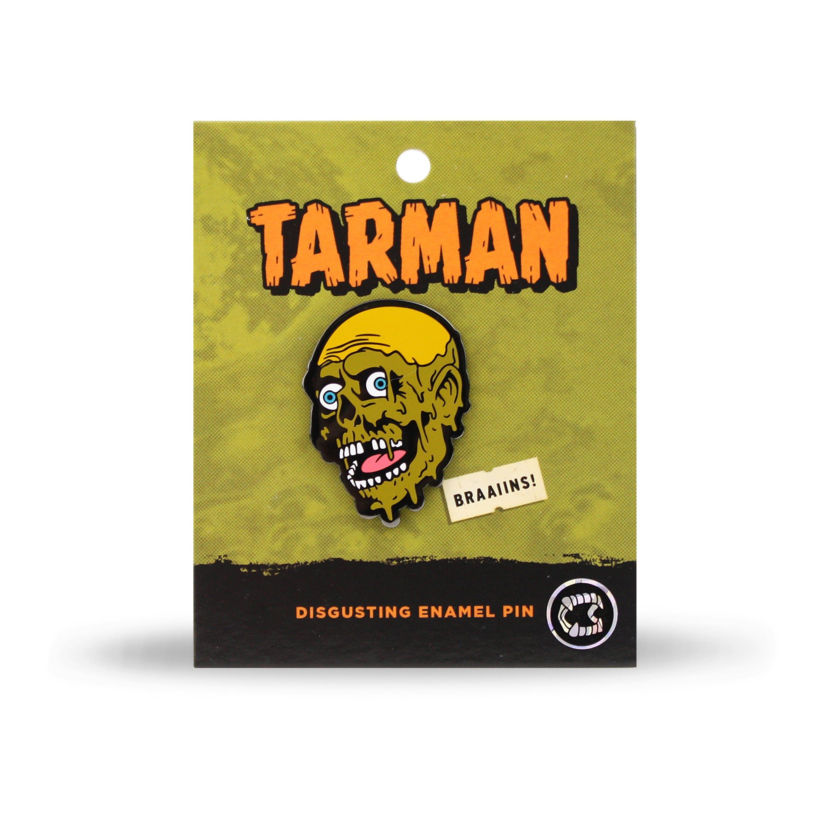 Tarman™ Raw Sewage Enamel Pin