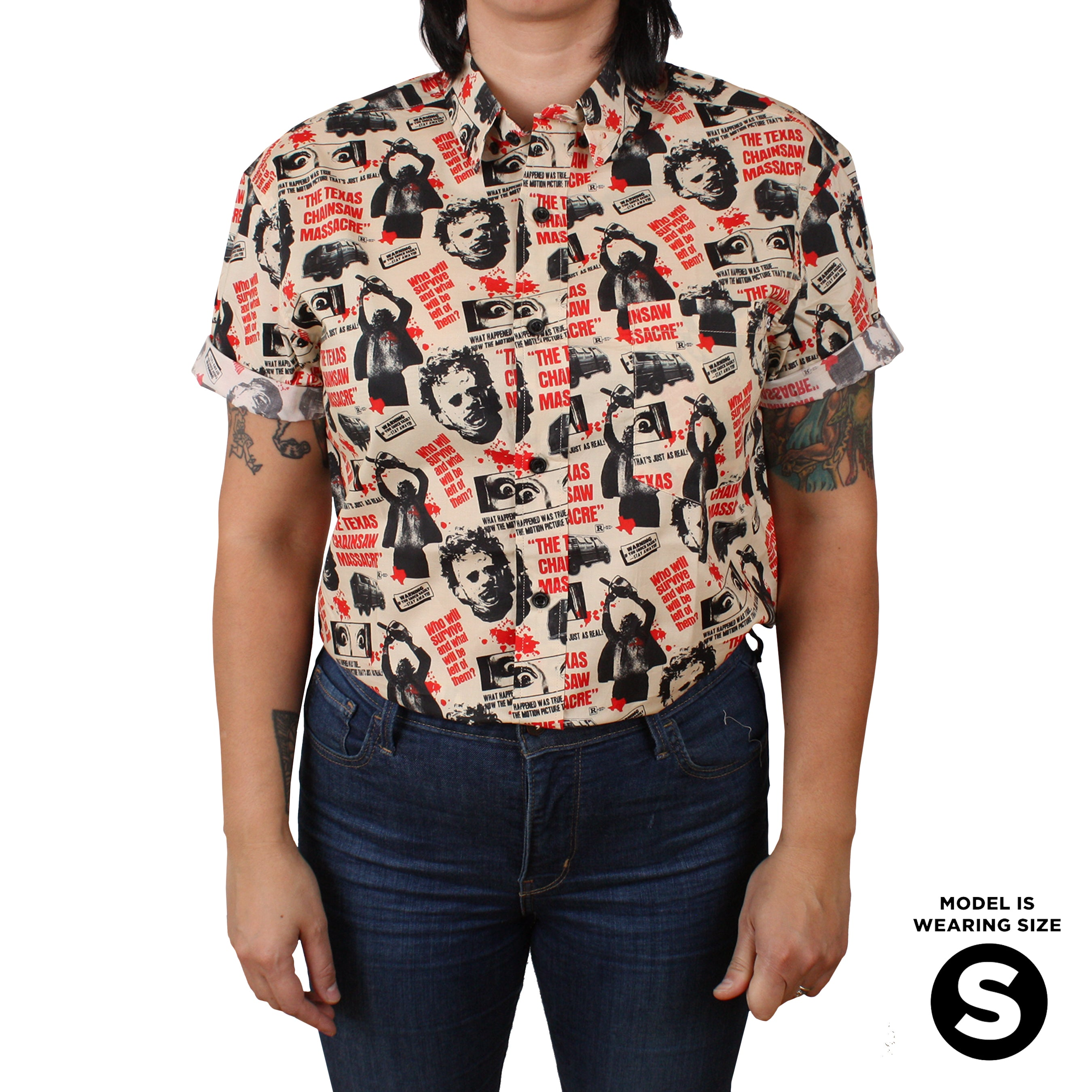Texas Chainsaw Massacre™ Button-Up Shirt