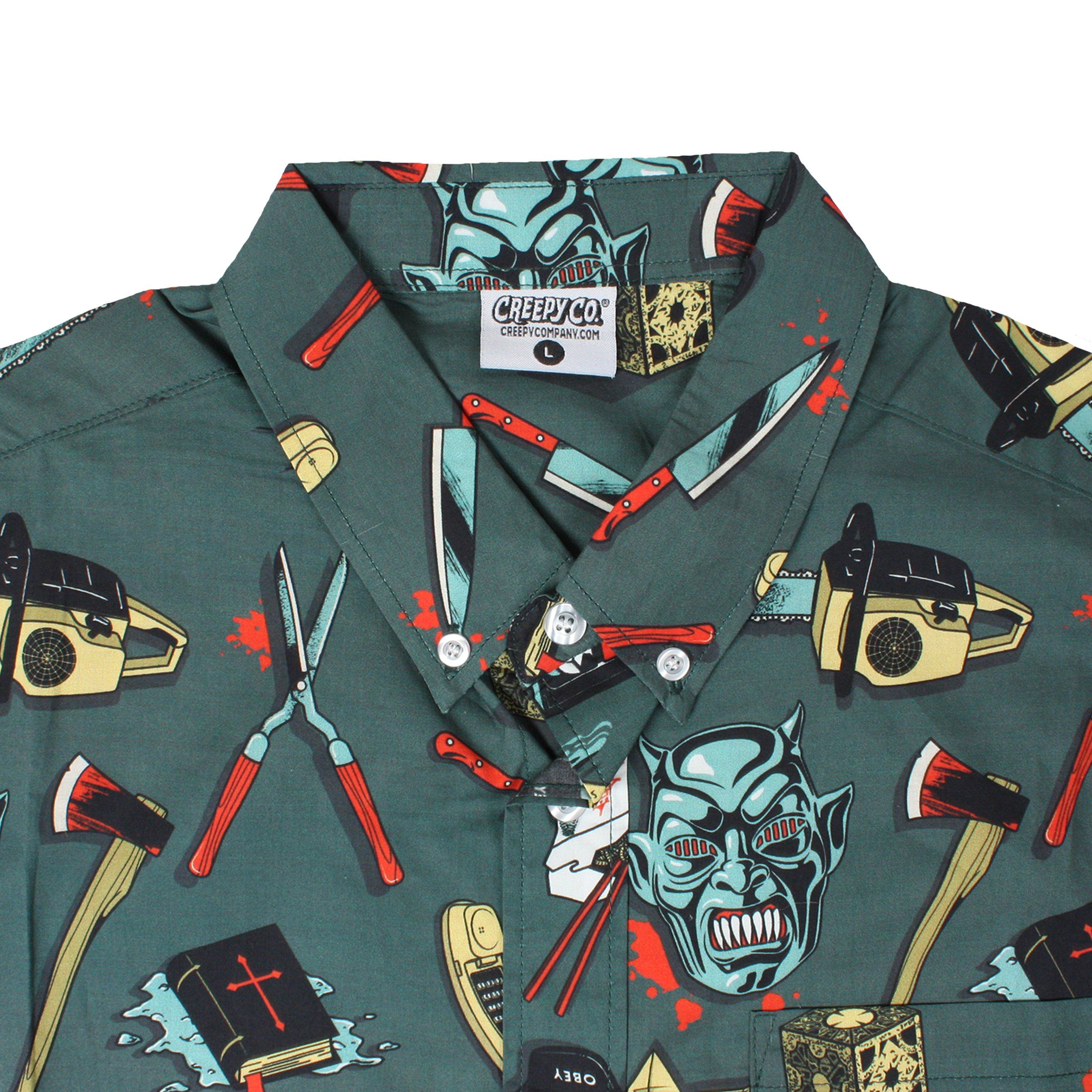 Tools of the Trade Button-Up