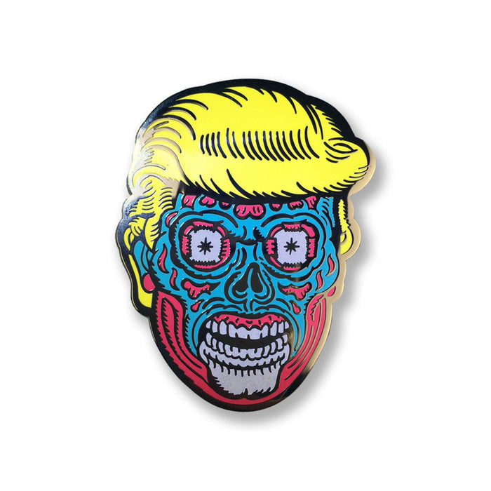 Trump Lives Enamel Pin - Creepy Co.