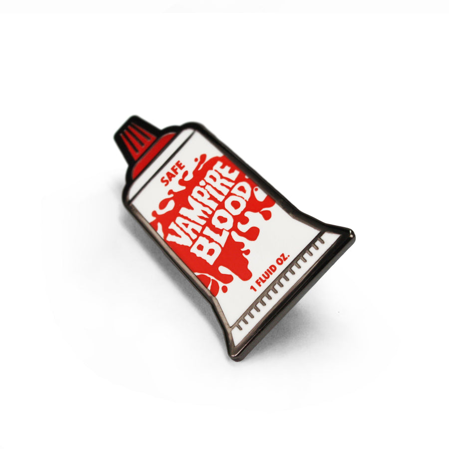 Fake Blood Enamel Pin
