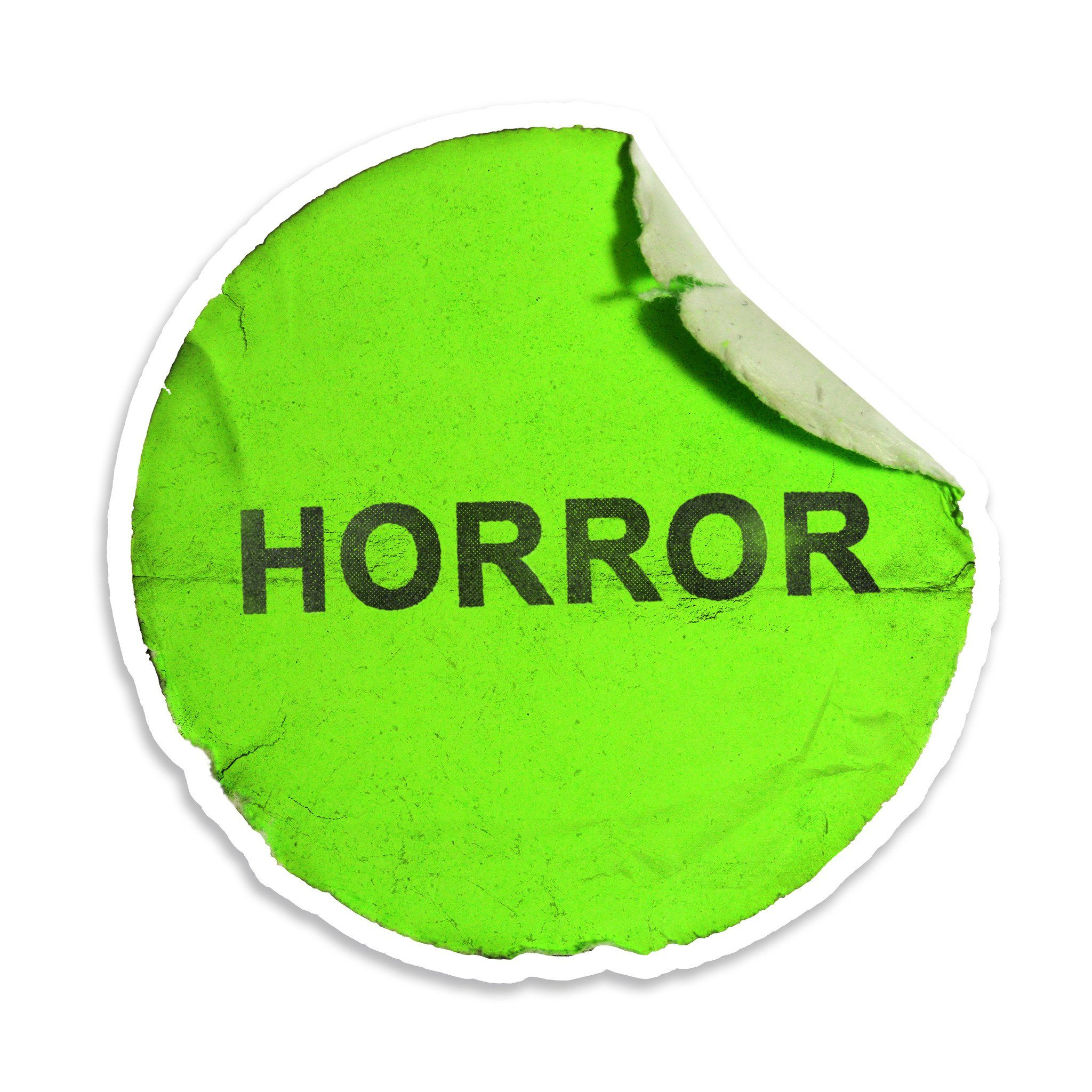 Horror Label Sticker - Creepy Co.