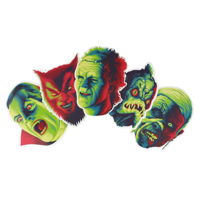Monster Squad Sticker Pack
