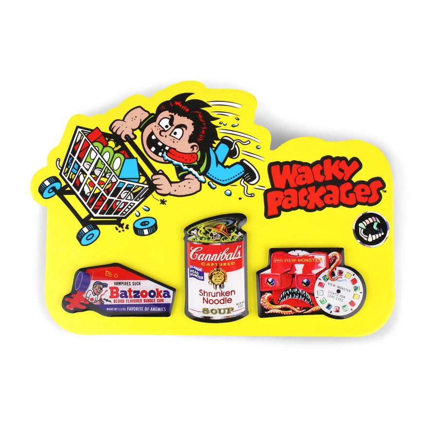 Wacky Packages™ 3-Pack Lapel Pin Set