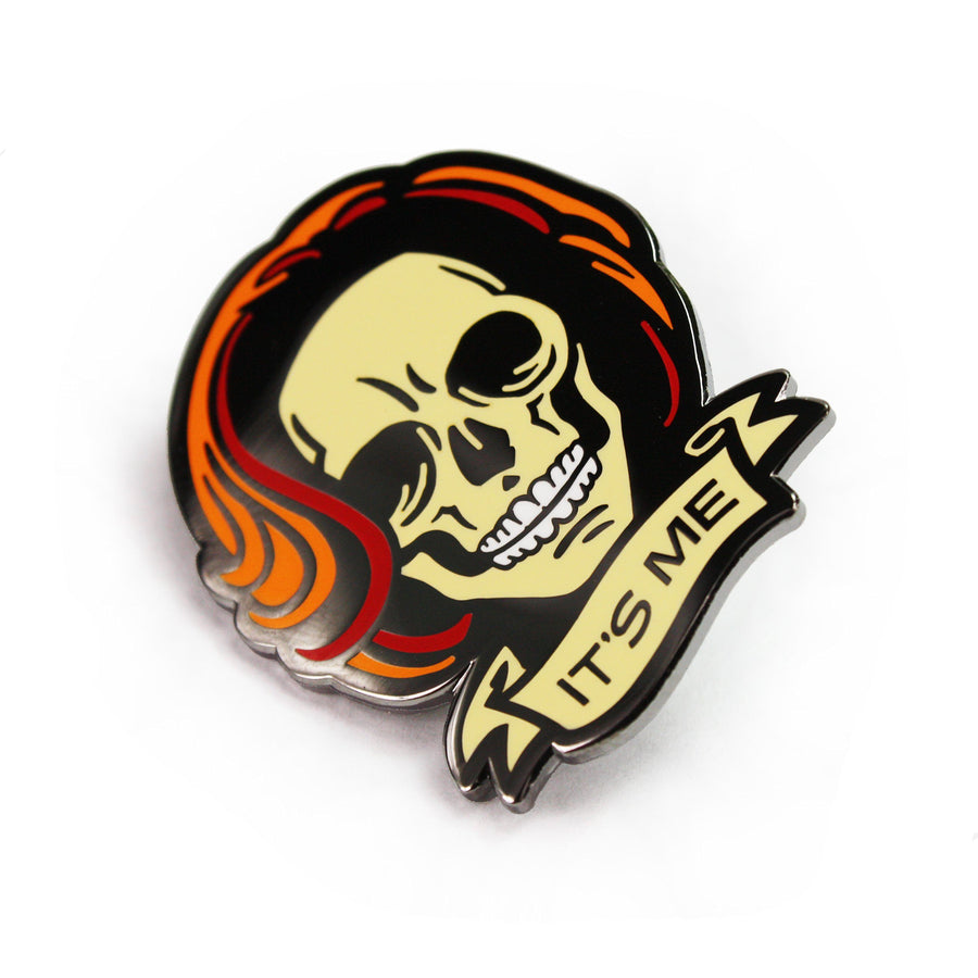 Skully Redux Enamel Pin