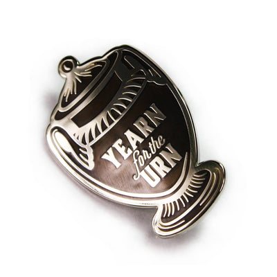 Yearn for the Urn Enamel Pin