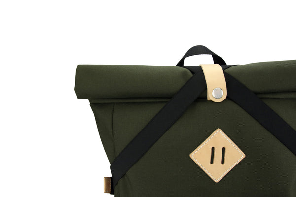 Olive Green X Backpack