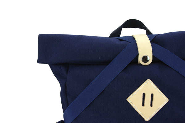 Navy X Backpack
