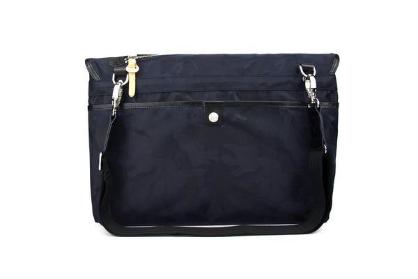 Navy Camo Messenger Bag