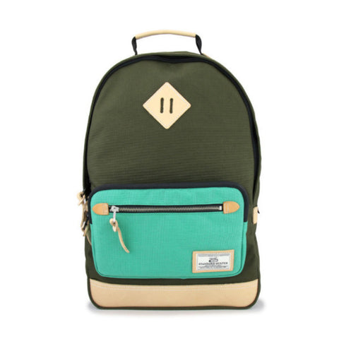 AP Daypack Olive Green + Color Pocket