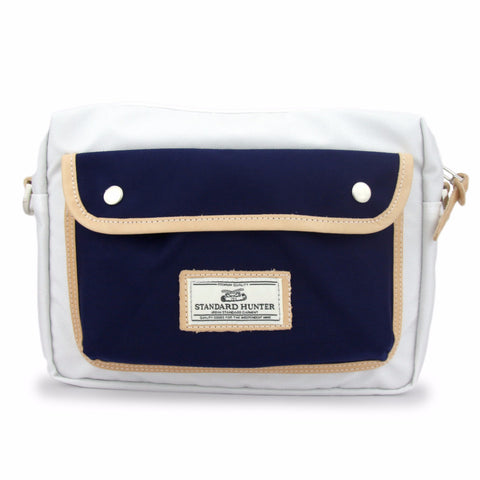 Roadtrip Bag - White(Navy)