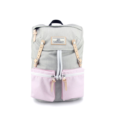Sunny Girl Backpack - Grey Pink