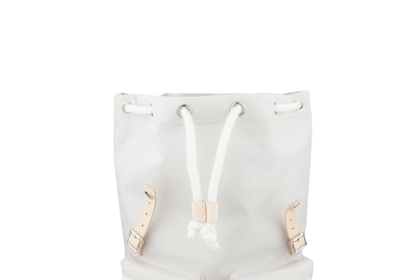 Sunny Girl Backpack - White Grey