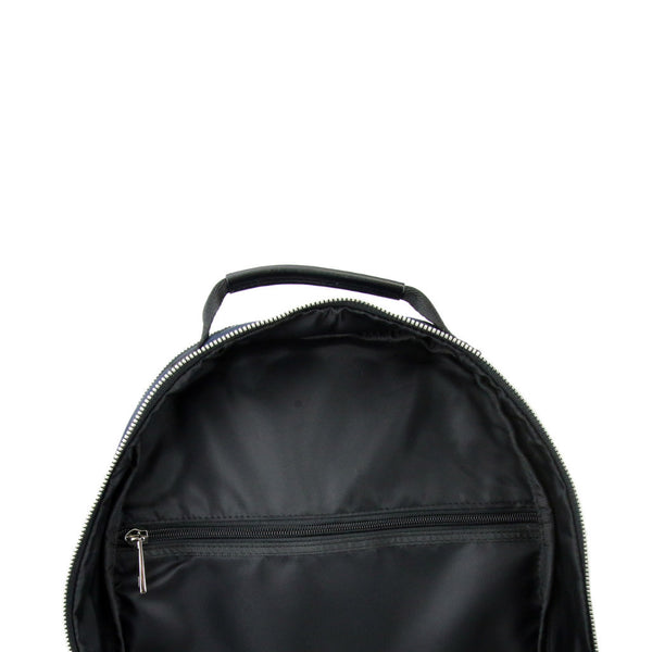 Round Backpack - Navy