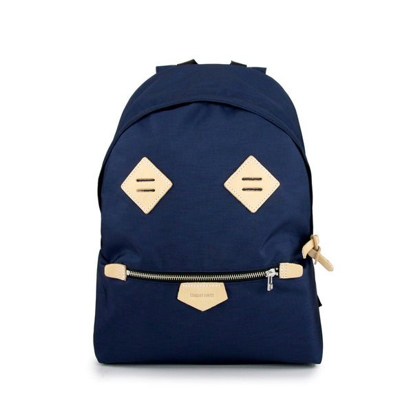 Smiling Face Backpack - Navy