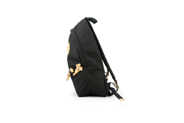 Smiling Face Backpack - Black
