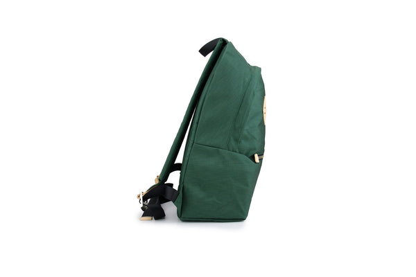 Smiling Face Backpack - Green